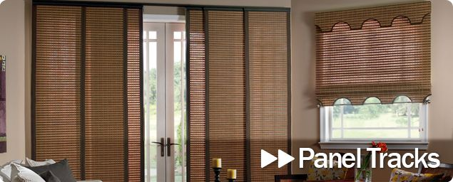 1000 ideas about sliding panel blinds on pinterest for Panel tracks for patio doors