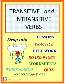 transitive verb worksheets for 6th grade englishlinx verbs worksheetsverb worksheets have fun. Black Bedroom Furniture Sets. Home Design Ideas