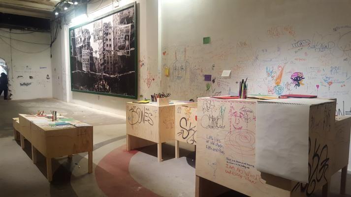 #missiondirectives by Nipper (NO)   for Nuart Festival 2016 - Post Street-Art Exhibition. 11 September - 16 October 2016 Tou Scene, Stavanger, Norway