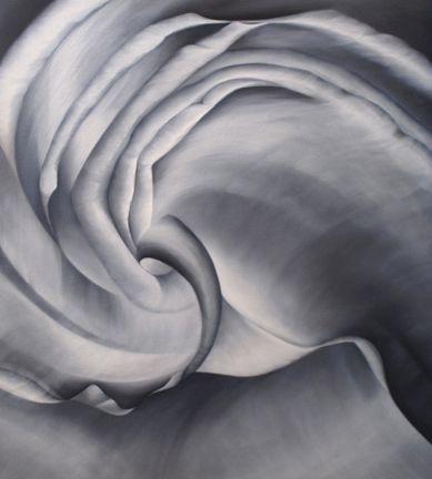 PERMUTATION, oil on canvas, 30 x 27 inches, 2010.