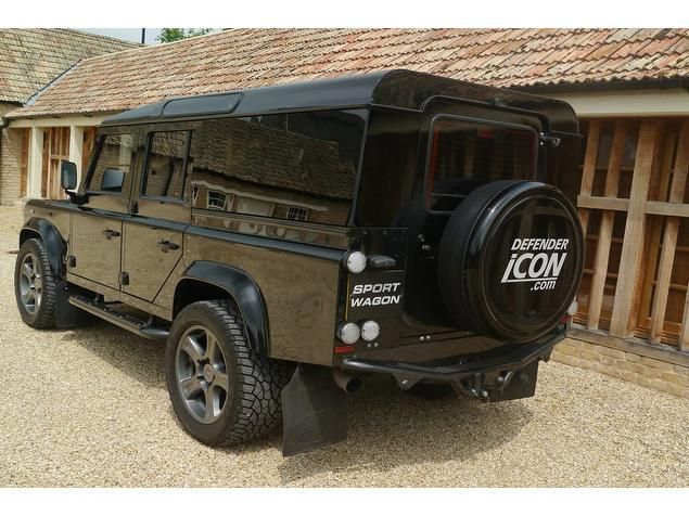2010 Land Rover Defender XS Station Wagon TDCi 3.2 5dr DEFENDER ICON 110 SPORT WAGON PETERBOROUGH - Top Marques