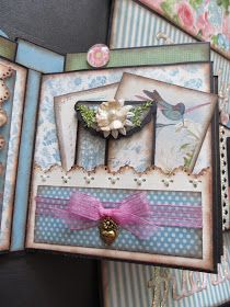 Paper Hoarder Disorder  has done it again!!! This is her pattern for her wonderful Gate Fold book that is available at her Etsy shop. It ...