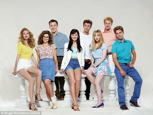 A hit: The Unauthorized Beverly Hills, 90210 Story debuted on Saturday on Lifetime...