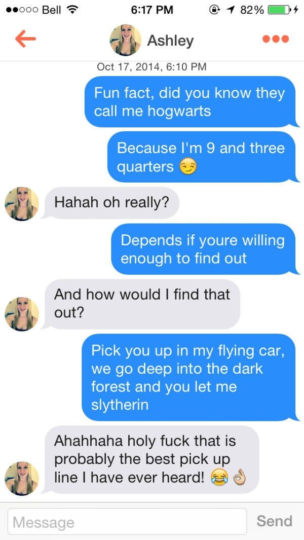 Funny pick up lines for online dating