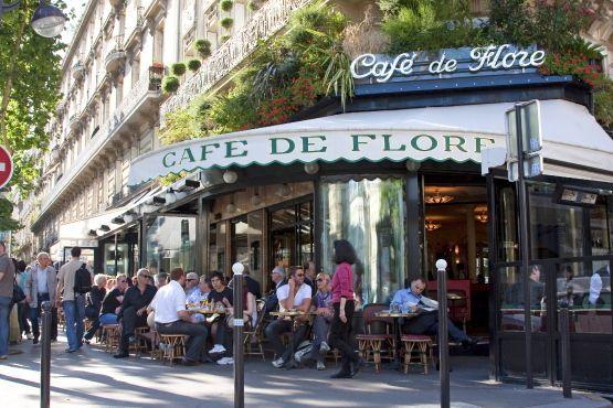 Café de Flore à Paris