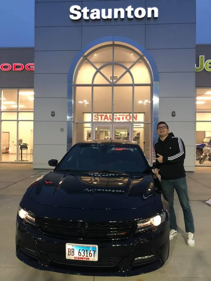 Congratulations Lucas On Your 2018 Dodge Charger From Cloide And
