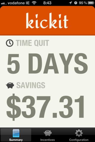 Kickit smoking cessation app