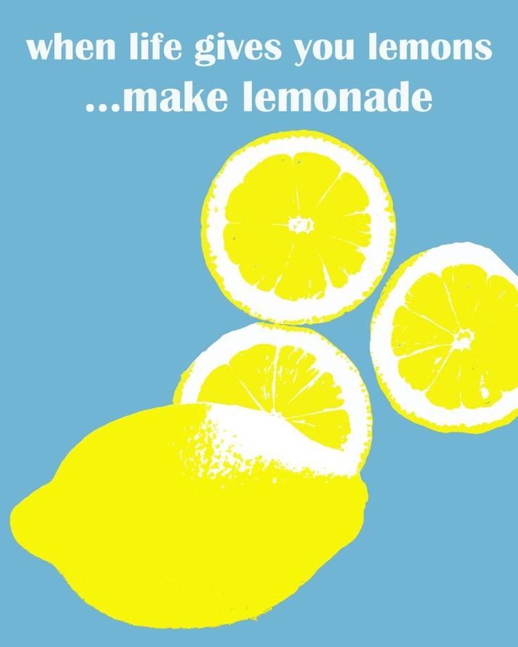 Merveilleux Lemons Lemonade Life Quote