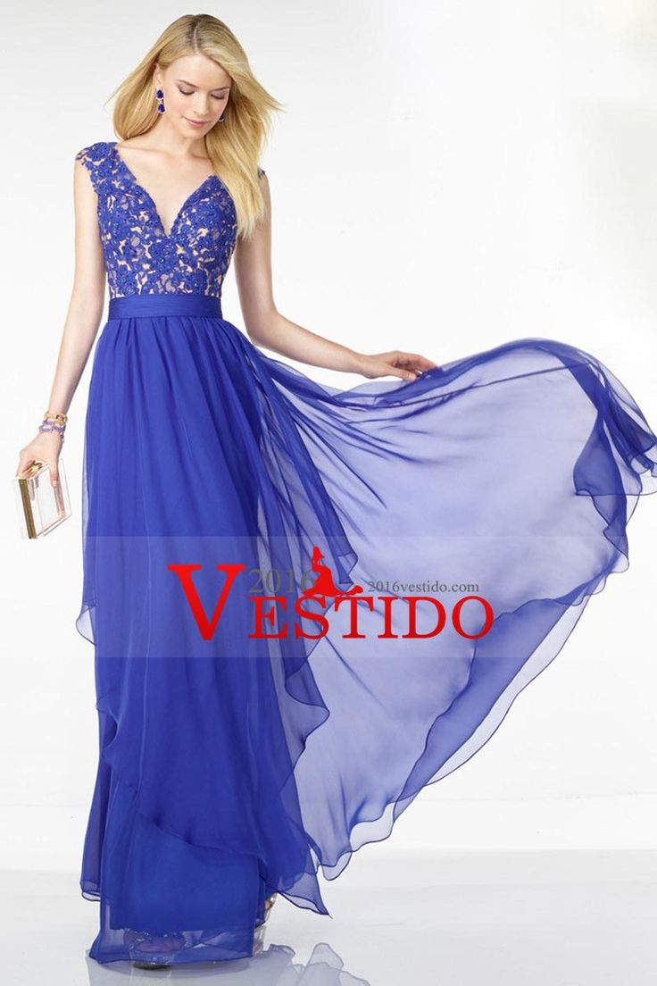 42 best vestidos largos images on Pinterest | Long gowns, Ball gown ...