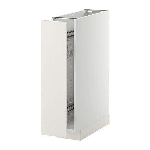 Superb METOD Base Cabinet/pull Out Int Fittings   White, Veddinge White   IKEA Nice Design