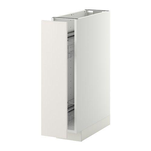 METOD Unterschrank+ausziehb. Einrichtg. IKEA Das Grundelement ist stabil konstruiert: 18 mm stark.
