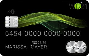 WB21 Bank Mastercard
