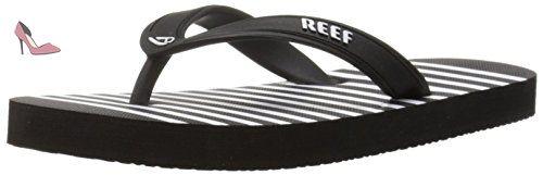 Reef Grom Switchfoot Prints, Tongs Garçons, Noir (Black/White Blw), 28/29 EU - Chaussures reef (*Partner-Link)