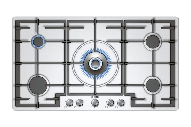 Home :: Whiteware :: Kitchen :: Cooktops :: Bosch 90cm Gas Cooktop