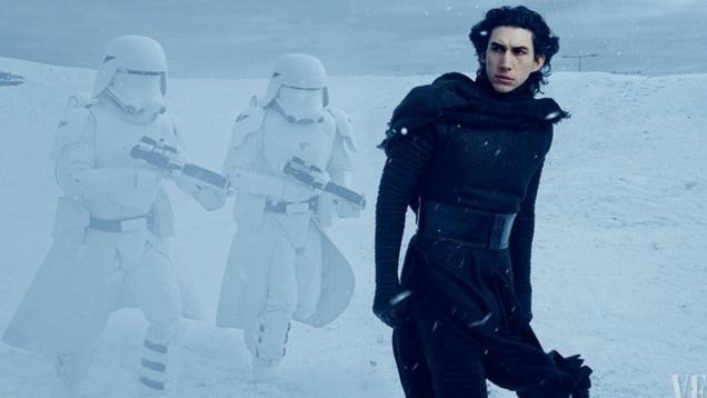 Good news, everyone! JJ Abrams killed Jar Jar Binks (probably). Also, Vanity Fair has Star Wars: The Force Awakens set pics with lots of new information, including what's behind the main villain's mask, a brand new space pirate, and much, much more.