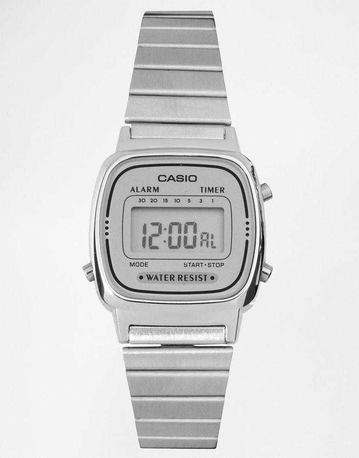 Image 1 - Casio - LA670WEA-7EF - Mini montre digitale - Argenté