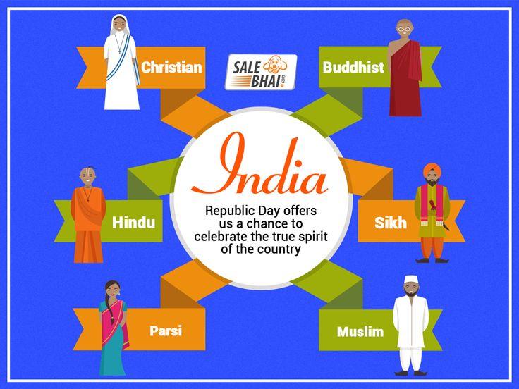 Republic Day Offers Infographics Salebhai.com