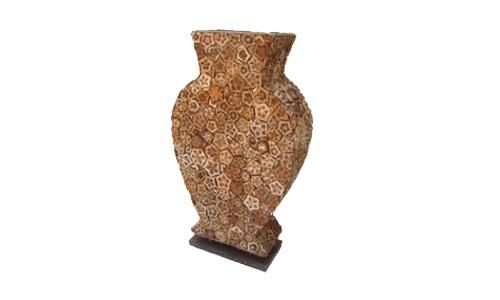 PD0001 | Tabel Lamp | Material of mahogany flower