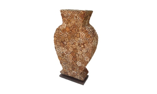 PD0001 | Tabel Lamp | Material of mahogany flower