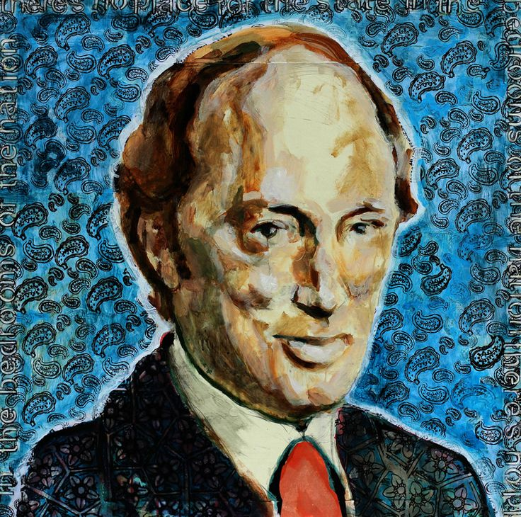 """Face to Face: Pierre Trudeau's Talking Portrait"" was exhibited at The Canadian Museum of History (formerly known as the Canadian Museum of Civilization). As part of The Canadian Personalities Hall, the installation featured Sherry Tompalski's live portrait painting of former Canadian prime minister Pierre Trudeau along with Graham Thompson's video recording of this interactive process."