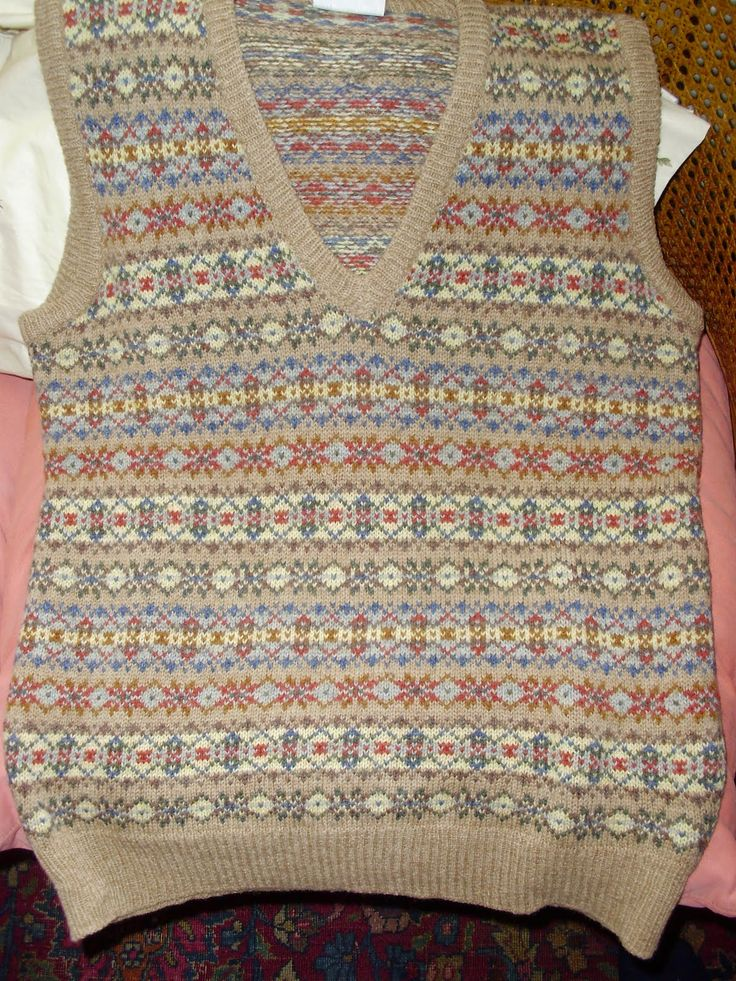 31 best fairisle images on Pinterest   Tricot crochet, Backpacks ...