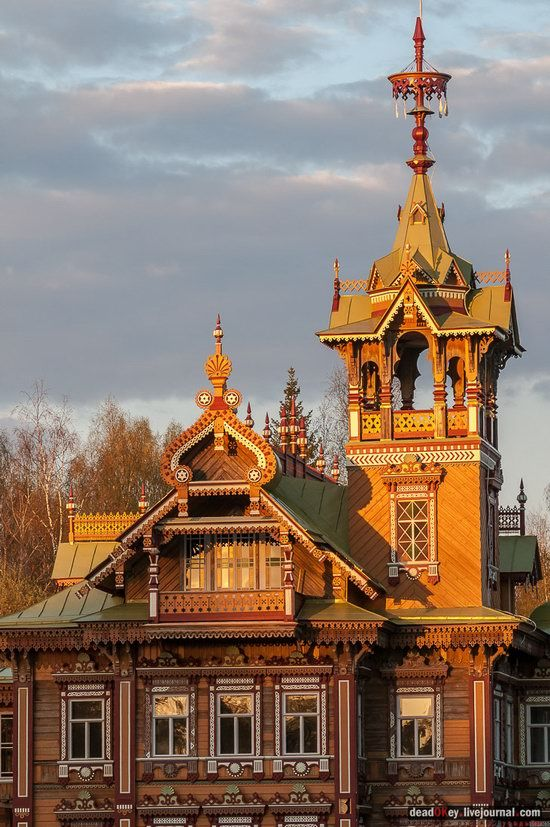 Wooden Palace in Astashovo, Kostroma region, Russia, photo 5