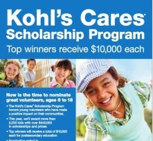 Duluth Youth Volunteer Earns Kohl's Scholarship - Duluth, GA Patch
