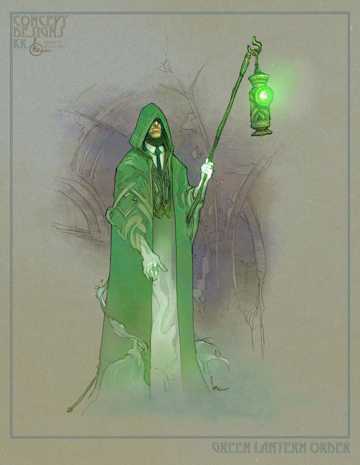 Justice League Redesign - Green Lantern (Hal Jordan) by Kenneth Rocafort
