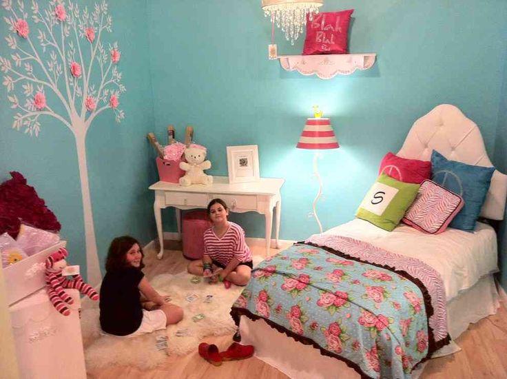 Delightful Girls Teal Bedroom