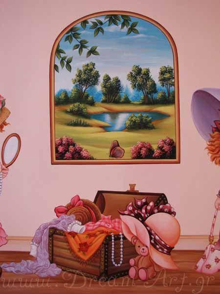 Ζωγραφική σε καμβά με θέμα Sarah Kay
