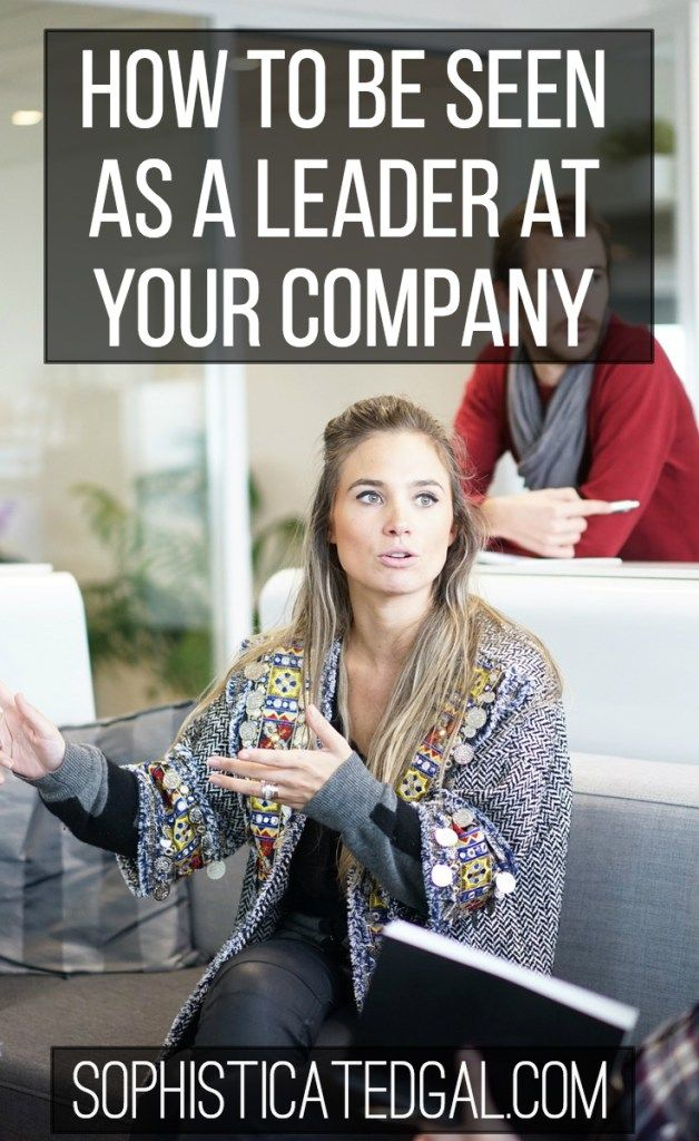 Being seen as a leader in your company can do wonders for your career. Check out these tips for how to be seen as a leader, especially as a millennial.