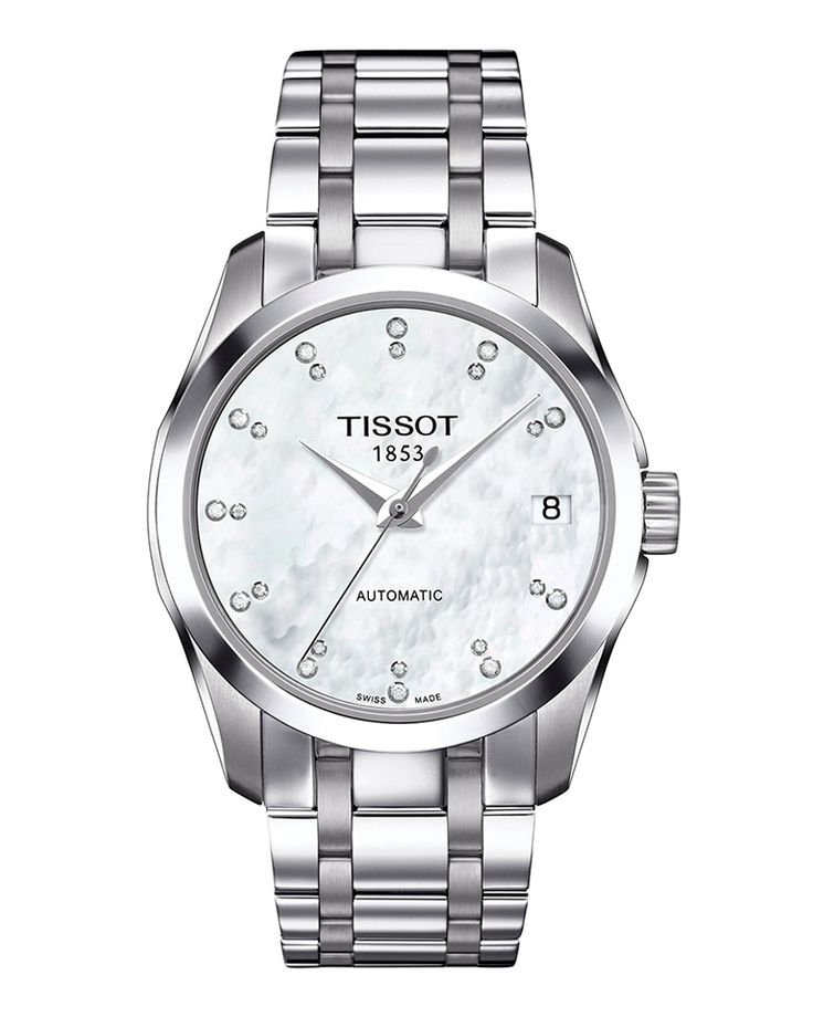 Ρολόι TISSOT COUTURIER Automatic Lady T0352071111600