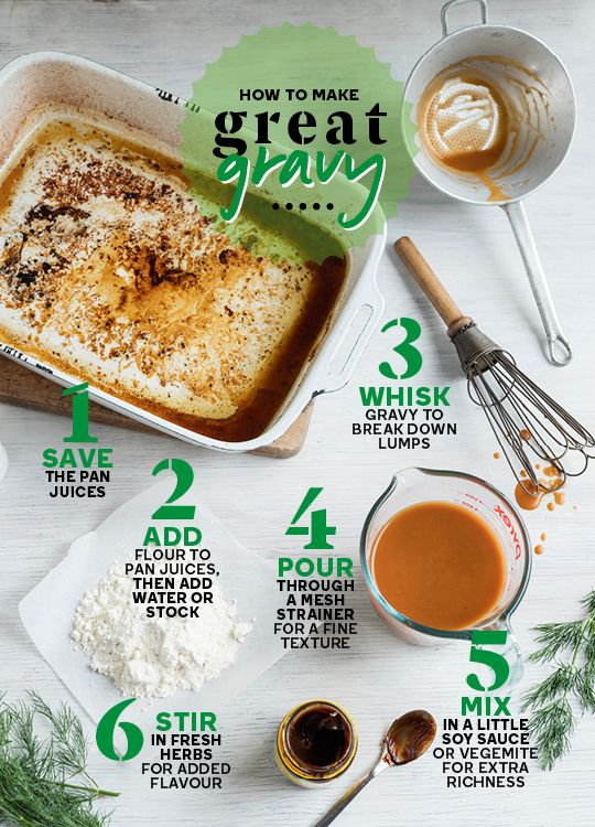 How to make great gravy every time