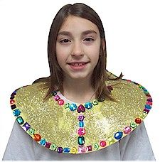 Egyptian Collar Craft. Dress up this year for thinking day. To see how to make these check out MakingFriends.com