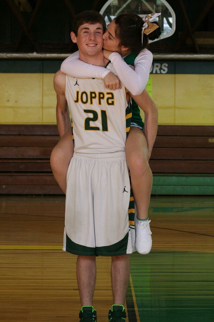 cute basketball boyfriend girlfriend picture!