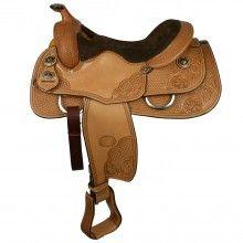 SHL Custom Reining Saddle