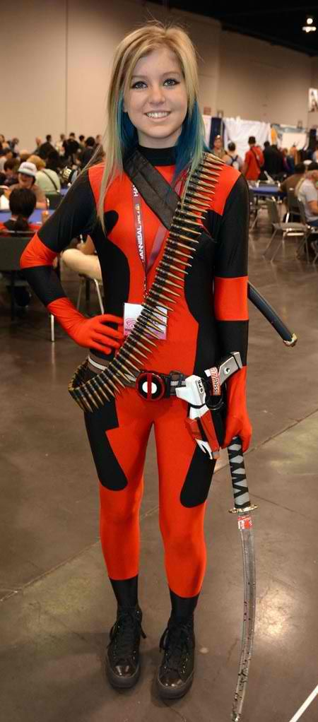 Lady Deadpool SFW Geek Gamer And Cosplay Girls They Are