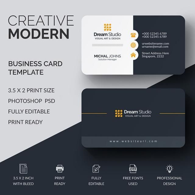 Business Card Template Business Card Mock Up Professional Business Cards Business Card Template Psd