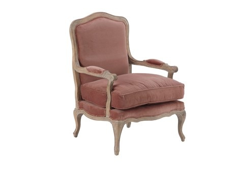 fauteuil berg re en velours vieux rose marron glac zyla 39 s dusky summer pinterest style. Black Bedroom Furniture Sets. Home Design Ideas