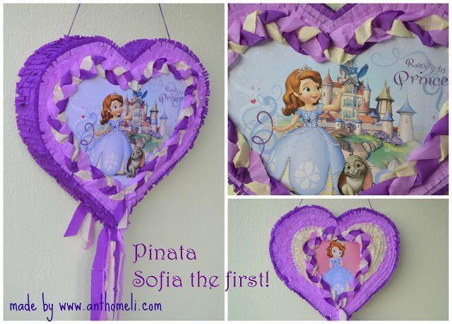 pinata princess sofia, πινιάτα πριγκίπισσα Σοφία, Πινιάτες οι αγαπημένες! (updated!) - Anthomeli