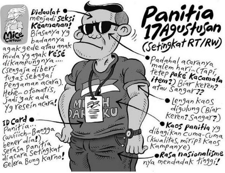 Mice Cartoon, Kompas 5 April 2015: Panitia 17 Agustusan