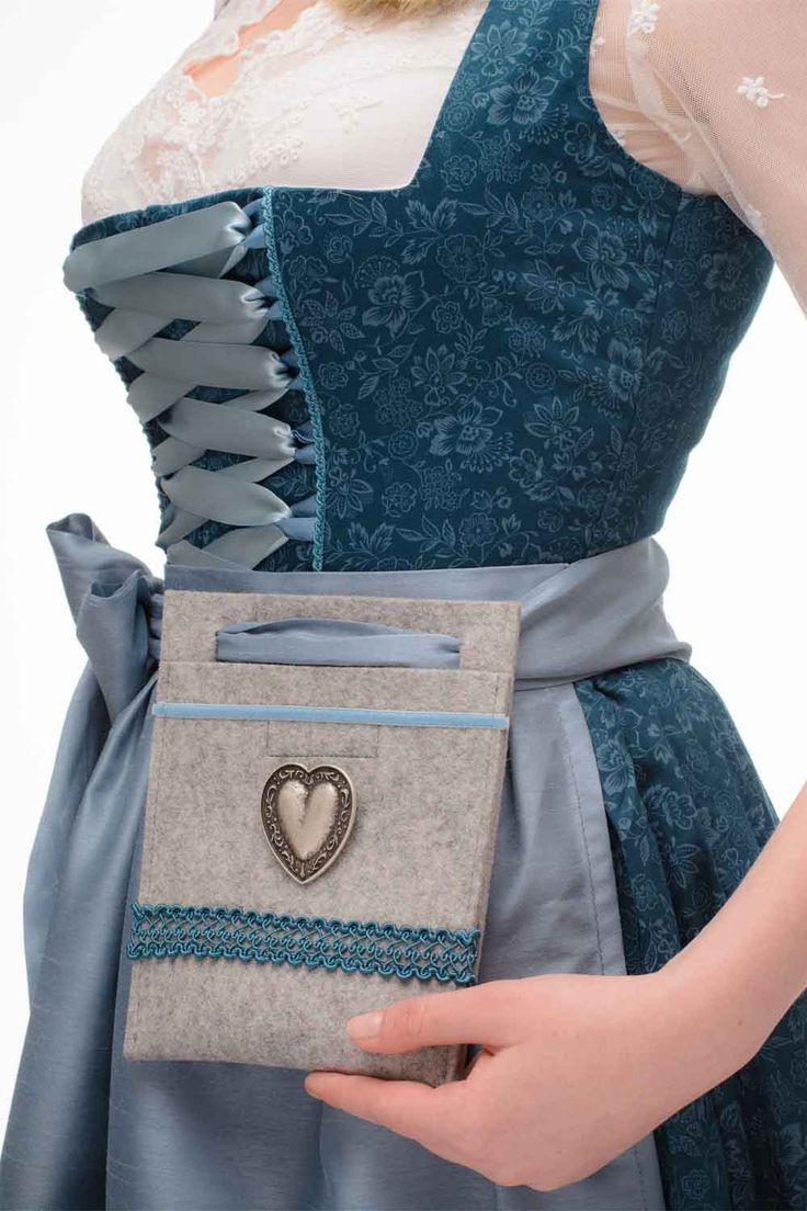 Dirndltasche, Trachtentasche, Handtasche zum Dirndl. Modell ELSA by TrachtenBrummsel