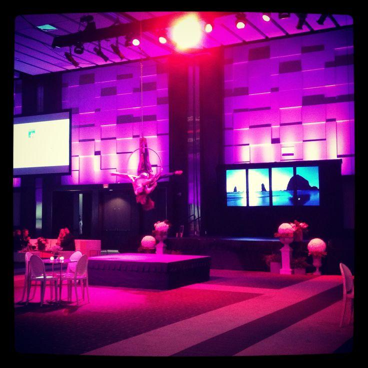 Aerial Dancers performance at the opening reception #Toronto #Ontario #Canada #IgniteMagazine #IgniteBusinessExpo