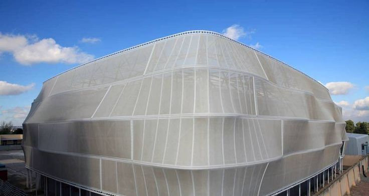 Fiberglass Architectural Fabric Ptfe Roof For