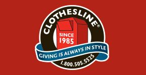 Clothesline - lighten your load and donate to Canadian Diabetes Association