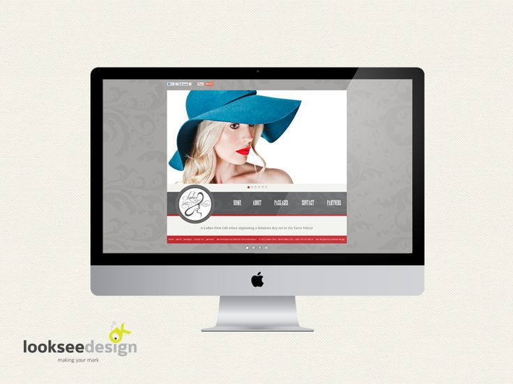 Ladies First Website - Designed by Looksee Design