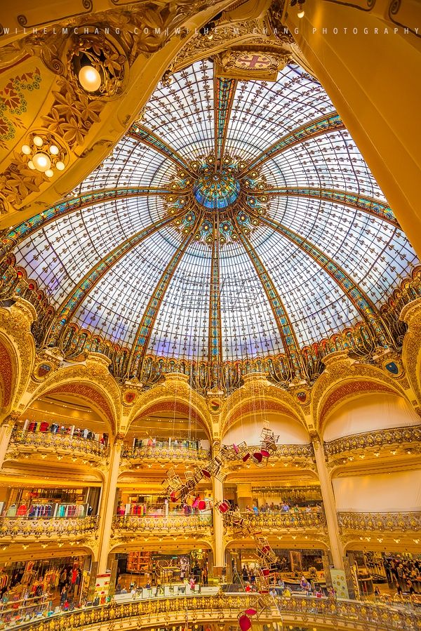Galeries Lafayette by Wilhelm Chang on 500px