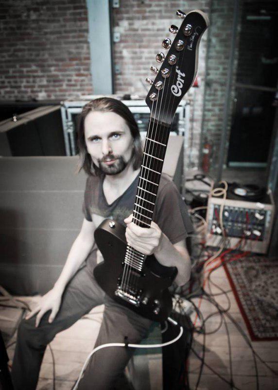 #MattBellamy #Muse Cort Guitars - Cort MBC-1 - Manson Guitar Made for Matthew Bellamy