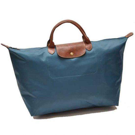 Longchamp glandulifera sac de voyage reine bleu