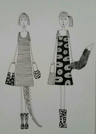 Friends. Made by bente sandtorv